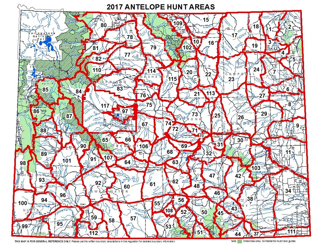 2017 Elk Hunt Area Descriptions vegas strip hotels map niagara ...